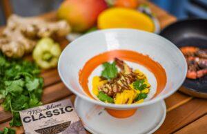 Salade de mangue saveurs Thaï